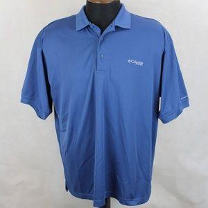 Columbia PFG Vented Fishing Polo Shirt